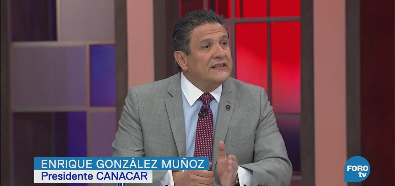 Entrevista Enrique González Muñoz Presidente Canacar