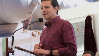 EPN reitera respeto a dichos y postulados de candidatos