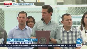 Epn Inaugura Proyectos Hidráulicos Baja California Sur