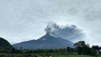 Chiapas descarta afectaciones por erupción de volcán en Guatemala