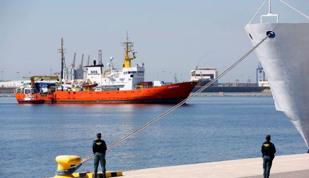 ACNUR aplaude a España por recibir al Aquarius