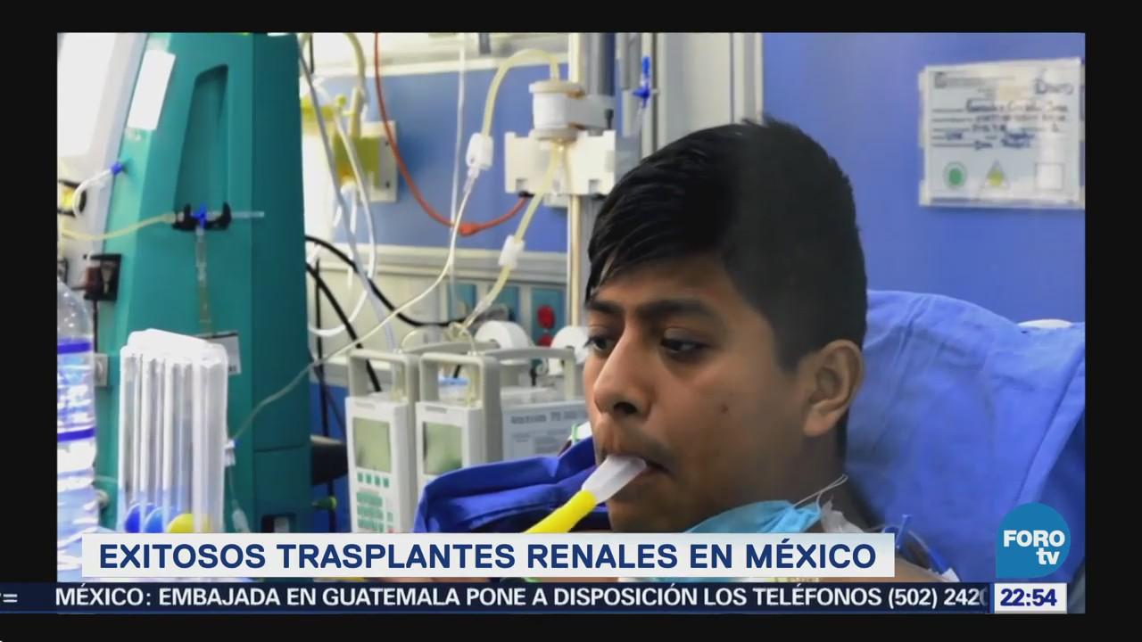 Exitosos Trasplantes Renales México Imss
