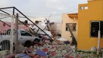 Explosión deja dos heridos en Tlajomulco de Zúñiga