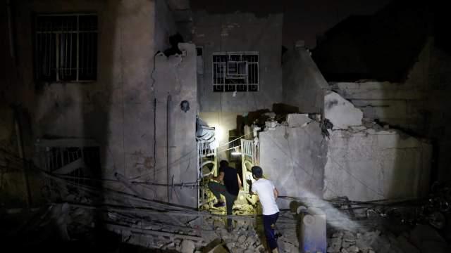 Explosión depósito armas deja 16 muertos Bagdad