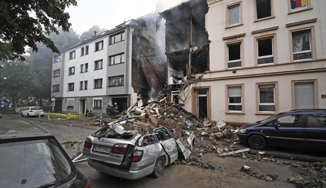 Explosión en edificio deja 25 heridos en Wuppertal, Alemania