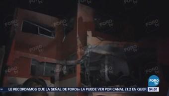 Explosión en Tultepec deja al menos 4 lesionados