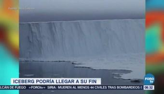iceberg más grande podría llegar a su fi