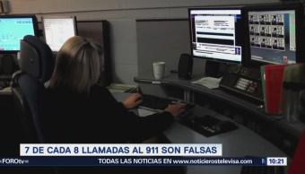 Extra Extra: Siete de cada ocho llamadas al 911 son falsas