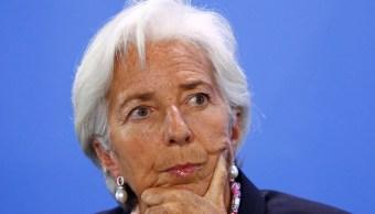 Foto: Christine Lagarde, directora gerente del FMI, 11 abril 2019