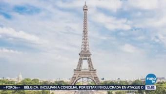 Francia Muro Cristal Antibalas Torre Eiffel