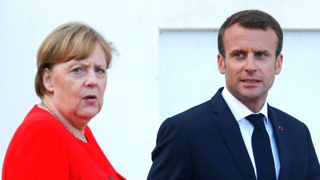 Francia y Alemania proponen presupuesto único para Zona Euro