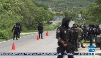 Fuerzas Seguridad Mantienen Operativo Sierra Guerrero
