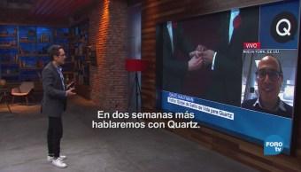 Genaro Lozano entrevista a David Kaufman Quartz