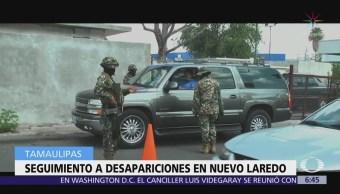 Gobierno mexicano protege a familiares de desaparecidos en Tamaulipas