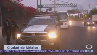 Granaderos encapsulan a manifestantes en Circuito Interior, CDMX