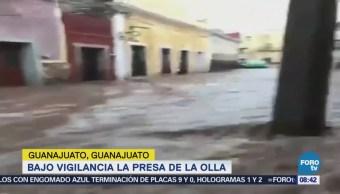 Guanajuato Mantiene Vigilancia Presa La Olla