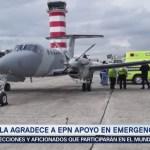 Guatemala Agradece Epn Apoyo Emergencia Volcán