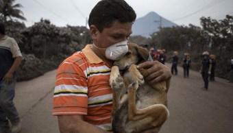Sismo de 5.2 sacude Guatemala tras erupción Volcán de Fuego