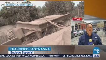Guatemaltecos temen más erupciones del Volcán de Fuego