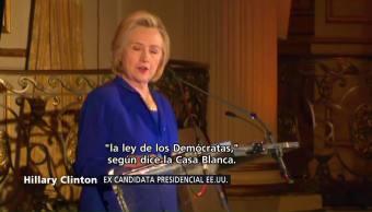 Hillary Clinton Condena Separación Familias