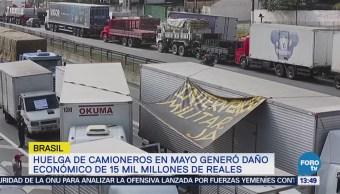 Huelgas impactan economía de Brasil y Argentina