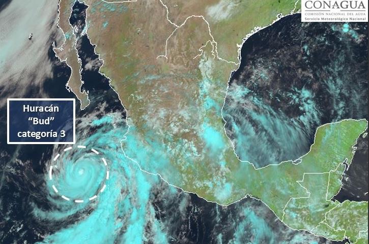 Se mantiene la alerta amarilla por 'Bud' en Los Cabos