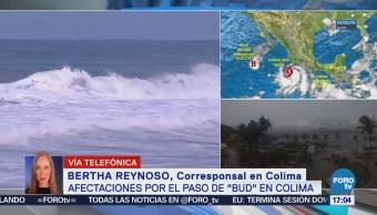 Huracán Bud Provoca Fuertes Lluvias Colima