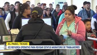 ICE endurece revisión de trabajadores