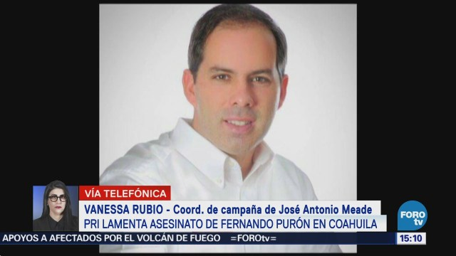 Inaceptable asesinato de Fernando Purón en