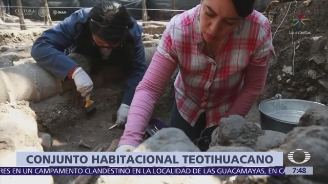 INAH descubre vestigios de caserío teotihuacano en el Bosque de Chapultepec
