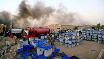 Se incendian almacenes de votos de elecciones en Irak