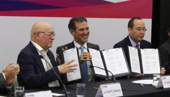 INE y ASF firman convenio para detectar y sancionar desvío de recursos a campañas