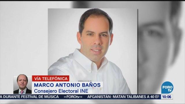 INE reprueba violencia en proceso electoral