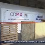 Centro Acopio Zócalo Capitalino Damnificados Guatemala