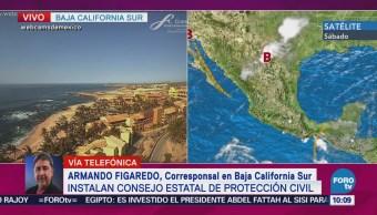 Instalan Consejo Estatal Protección Civil Baja California Sur
