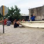 Lluvias e inundaciones prevalecen en gran parte del país