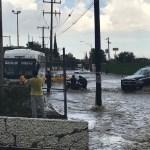 Lluvia provoca inundaciones en Saltillo, Coahuila
