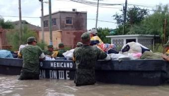Realizan censo de viviendas afectadas por inundaciones en Reynosa