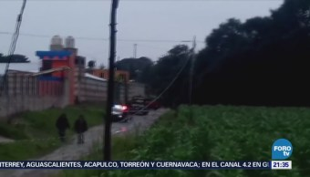Investigan 4 Personas Ataque Contra Policías Puebla