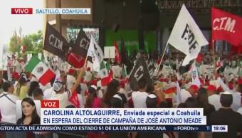 José Antonio Meade Cierra Campaña Saltillo Coahuila