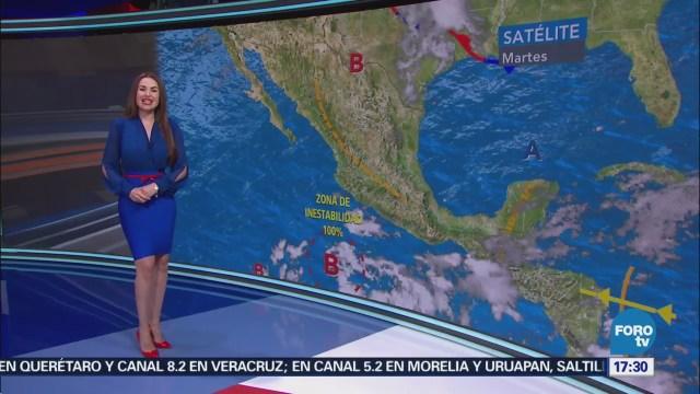Clima Con Mayte Carranco Zona De Baja Presión