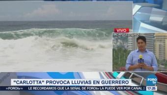 Cuatro Turistas Heridos, Árboles Caídos Inundaciones Acapulco