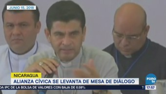 Suspenden Mesa Diálogo Nicaragua