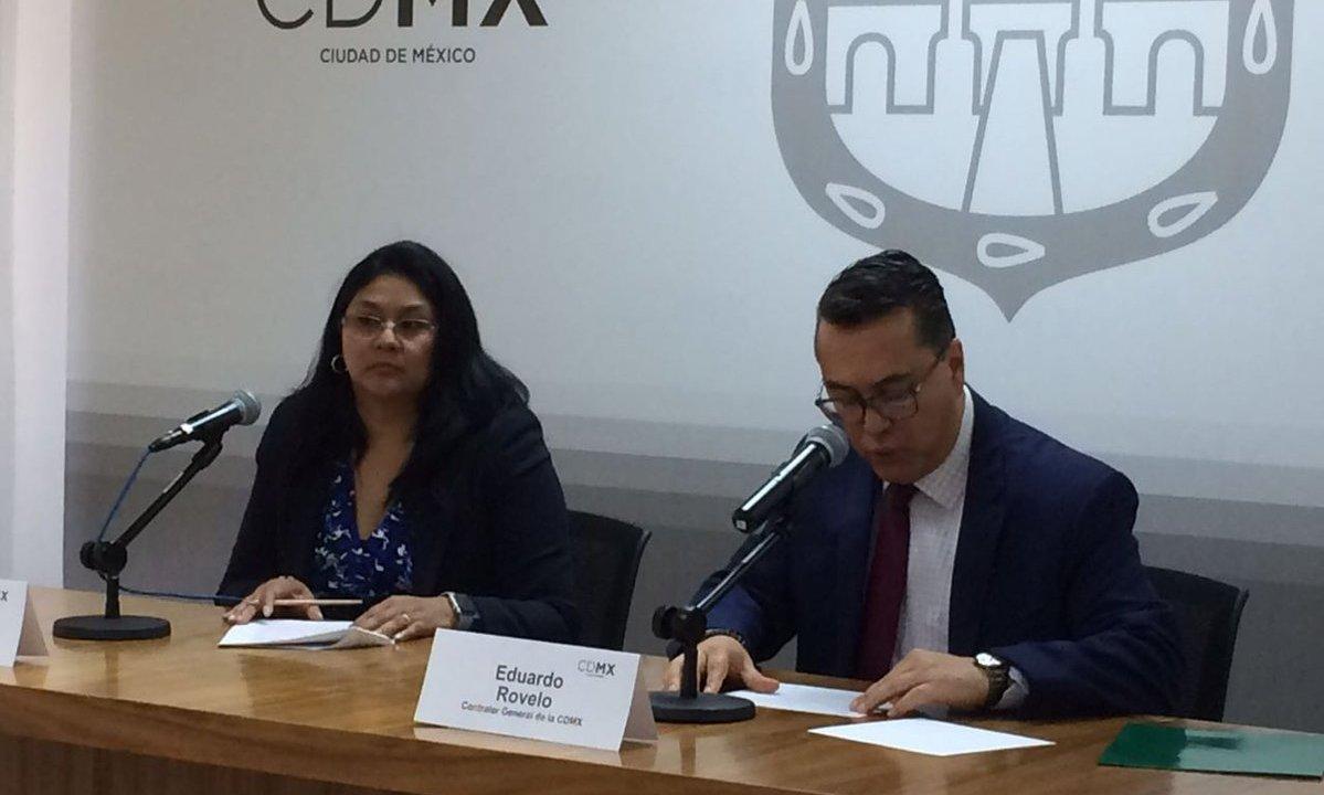 Finanzas de CDMX se deslinda de contrato con JJ Accounting