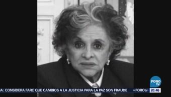Muere Periodista María Luisa La China Mendoza
