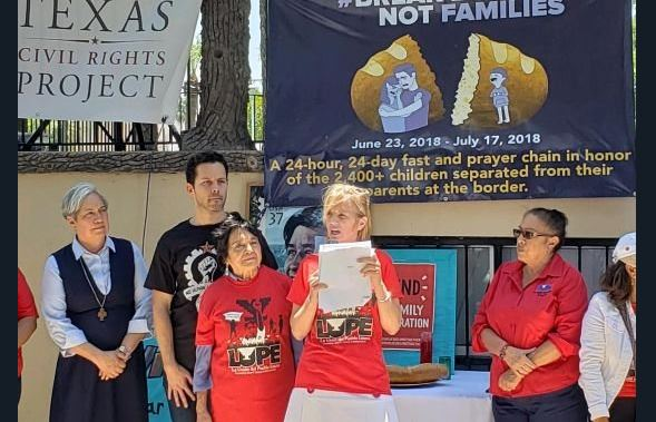 hija robert kennedy encabeza huelga hambre politica migratoria trump