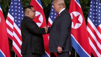 Trump cree que China presiona negativamente a Corea del Norte