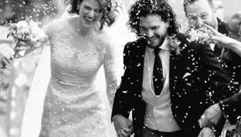 Se casa Kit Harington y Rose Leslie, Juego de Tronos
