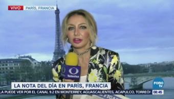 La nota del Día en París, Francia