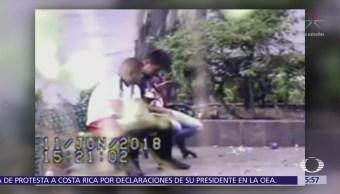 Policías Evitan Robo Colonia Roma Norte Cdmx